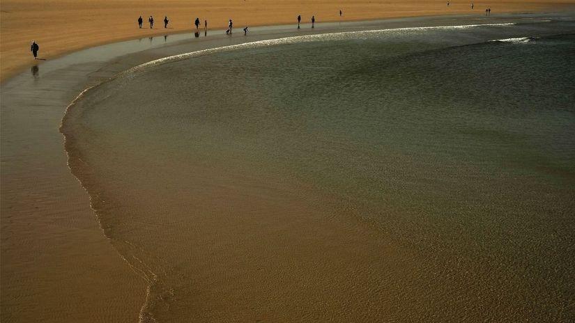 Španielsko, pláž, more, dovolenka, piesok,...