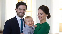 Carl Philip, Sofia, Alexander