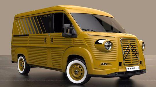 Slávny Citroën Type H sa vráti. Ako konverzia Jumperu
