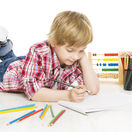 prvák, škola, kreslenie, písanie,
