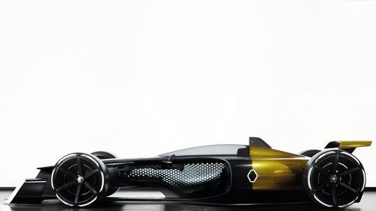 Renault RS 2027 Vision: Monopost budúcnosti? 600 kg poženie 1 MW!
