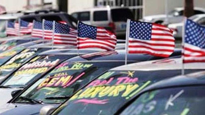 USA - predaj áut