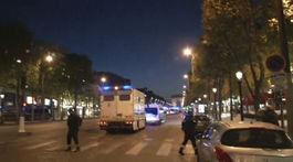 Champs-Élysées, streľba na Champs-Élysées,
