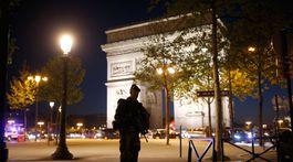 Champs-Élysées, streľba na Champs-Élysées