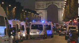 streľba na Champs-Élysées, polícia,