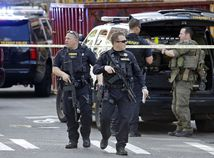Seattle, usa, policajt, policajti, zasah