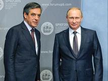 francúzsko, prezident, rusko, putin, fillon,