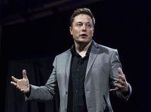 Podnikateľ a miliardár Elon Musk na archívnom zábere.