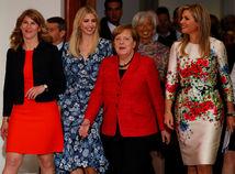 Ivanka Trumpová, Angela Merkelová,