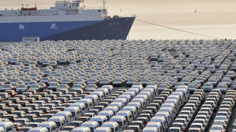Čína - prístav Peking