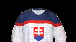 Slovakia semi authentic hokejový dres biely