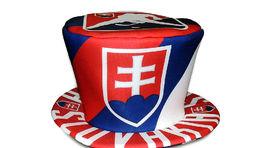 Slovakia klobúk hokej