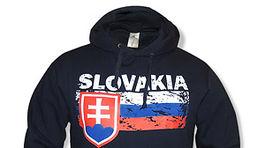 Unisex mikina Slovakia s kapucňou