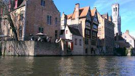 Bruggy, Belgicko, kanál, domy