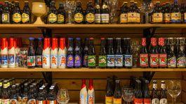 Bruggy, pivo, obchod, fľaše, nápoje, belgické pivo