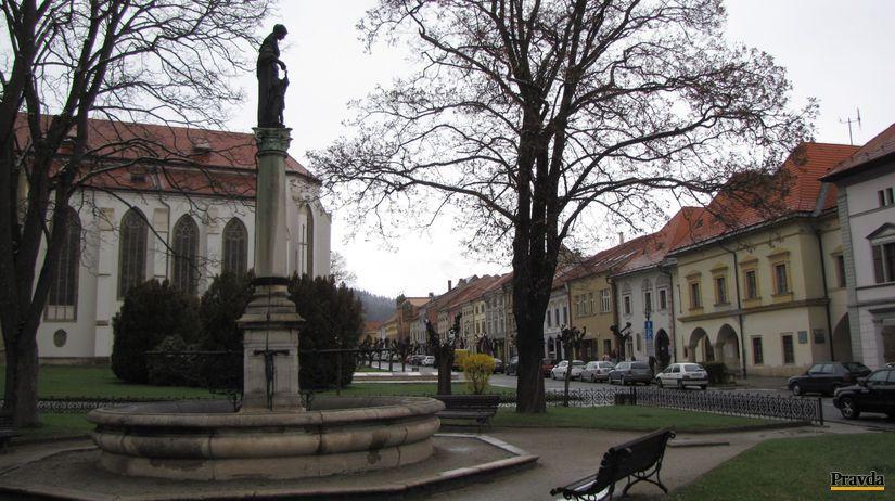 Fontána, Levoča