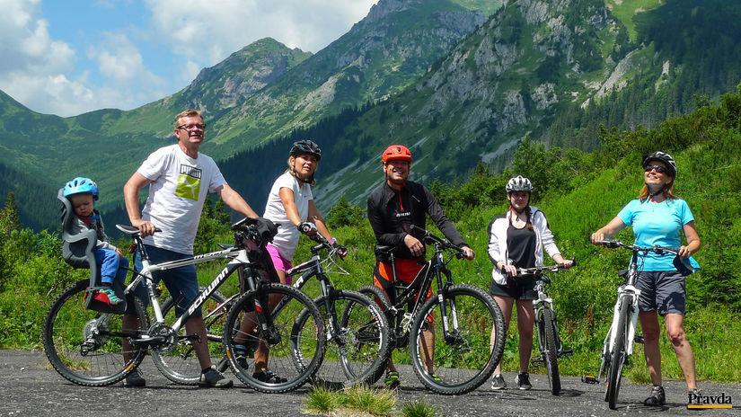 tichá dolina, cykloturistika, vysoká tatry,...