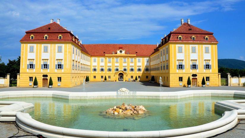 Zámok Hof, Schloss Hof, Rakúsko,