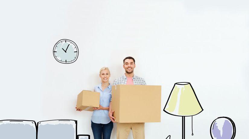 bývanie, dom, byt