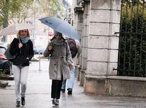 dážď, dáždnik