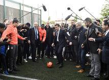 Emmanuel Macron, Paríž, Sarcelles, prezident, voľby