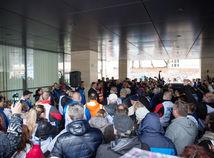 protest, kovo, odborovy zvaz KOVO, richter