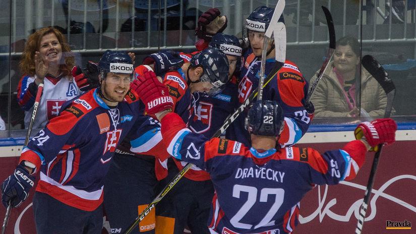Slovensko, hokej, radosť