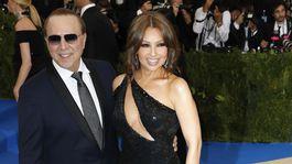 Na akcii už tradične nechýbala ani Thalia a jej manžel Tommy Mottola.