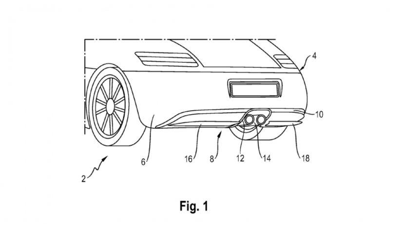 porsche aktivni difuzor patentove 01 800 600
