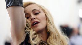 Speváčka Madonna sa nezaprela.