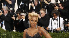 Speváčka Mary J. Blige.