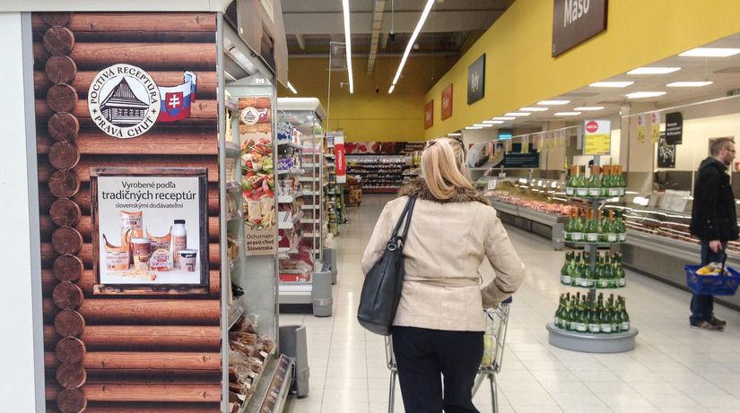 slovenske potraviny, tesco, slovensko, obchod