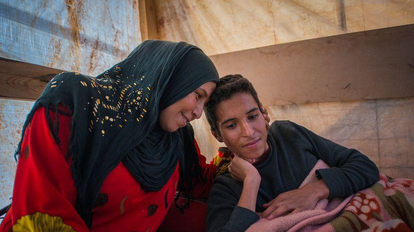 Sýrčania, utečeneci