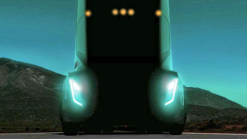 Tesla Semi - elektrický kamión