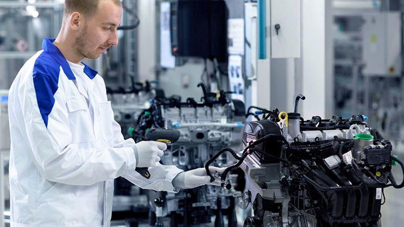 VW - výroba motorov
