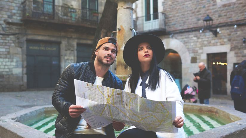 cestovanie, turisti, miesta