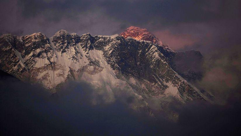 Mount Everest, Himaláje, Nepál