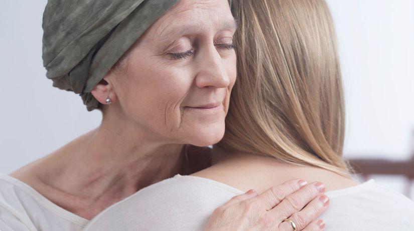 rakovina, smútok, objatie, choroba, vlasy
