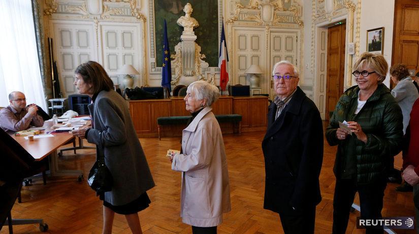 Francúzske prezidentské voľby, macron, le penová