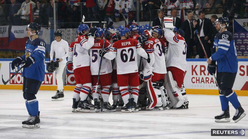 Česko, radosť, hokej