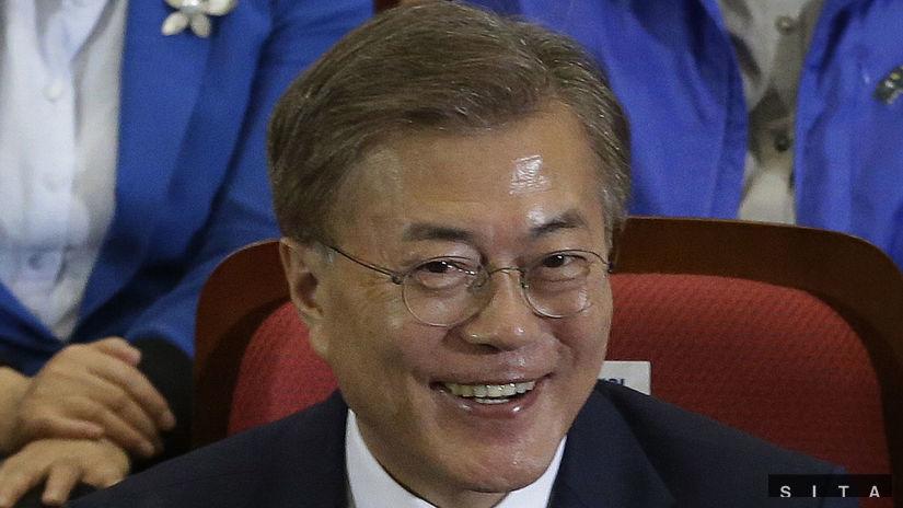 Južná Kórea, Mun Če-in