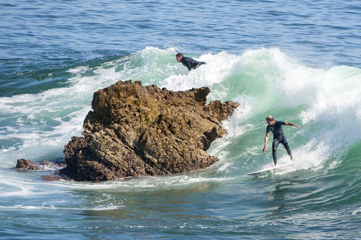 surferi, surfovanie, more, vlny, šport, Kalifornia
