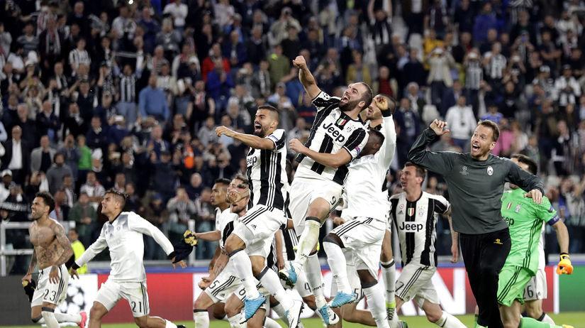 Juventus Turín, radosť