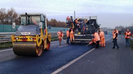 Samoopravovací asfalt - Holandsko