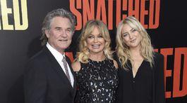Kurt Russel, Goldie Hawn a Kate Hudson