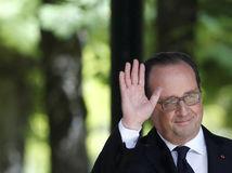 francois hollande, francuzsko, prezident