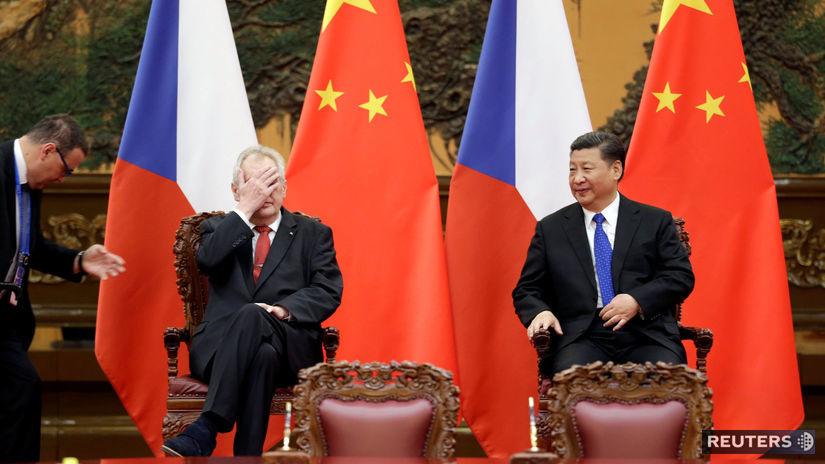 Miloš Zeman, Si Ťin-pching