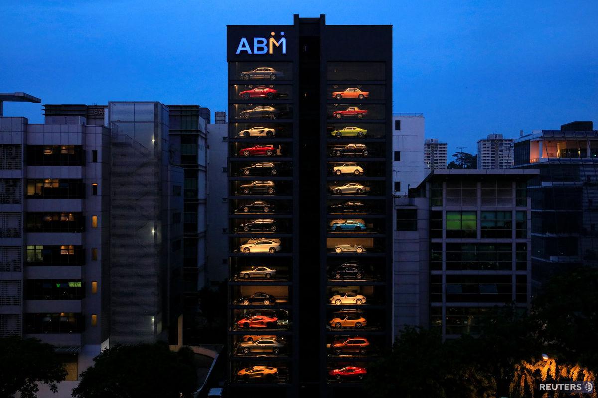 autá, Singapur,