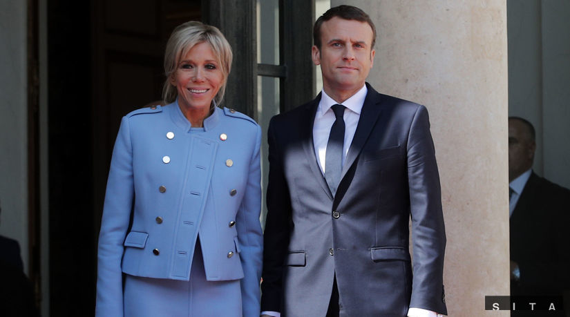 Brigitte Macronová, Emmanuel Macron