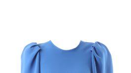 Výrazné nadýchané plecia na tope značky Victoria Beckham